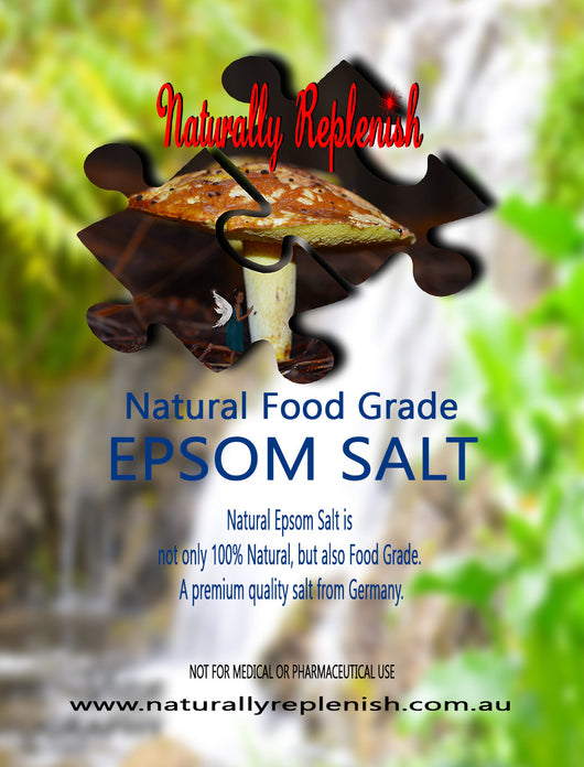 Naturally Replenish Natural Food Grade Epsom Salt