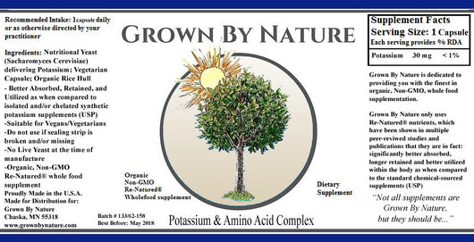 Grown by Nature Potassium Re-Natured®