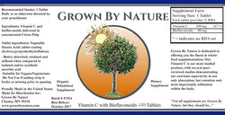 Grown By Nature Vitamin C + Bioflavonoids Re-Natured®