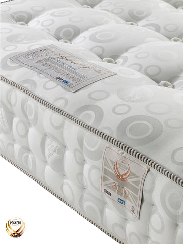 Sareer Pockéto 3000 Pocket Sprung Mattress - Medium