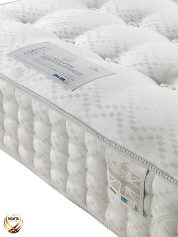 Sareer Pockéto 4000 Pocket Reflex Orthopaedic Mattress - Firm