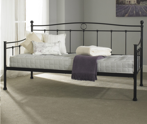 The ESSINA DAYBED in Black - Deluxe Comforts