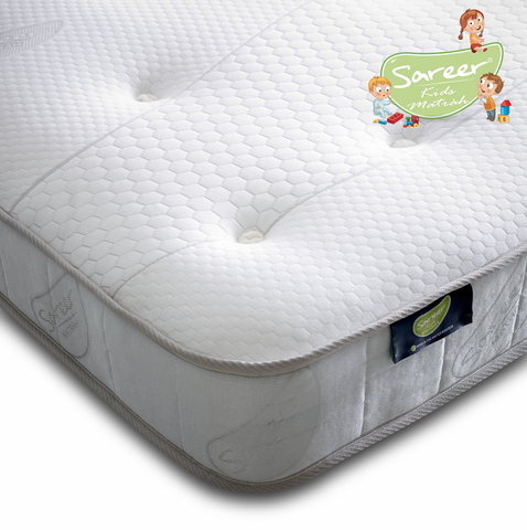 Sareer Aspire Kids Pocket Memory Foam Mattress - Medium - Deluxe Comforts