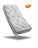 Sareer Cool Blue Pocket Memory Mattress - Medium - Deluxe Comforts