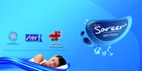 Sareer Gel Coil Mattress - Medium - Deluxe Comforts