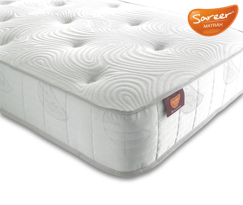 Sareer Latex Coil Mattress - Firm - Deluxe Comforts