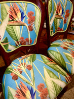 Revamped Bird of Paradise Balloon Back chair