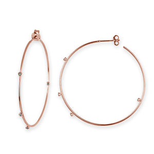 Scattered Hoop Earrings by Bianc
