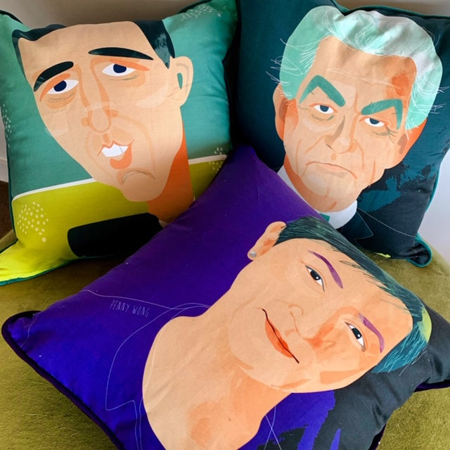Penny Wong 55cm square cushion