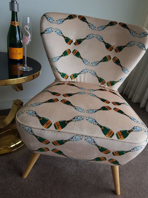 Champagne Luxe single chair