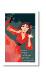 Kate Bush Art Teatowel