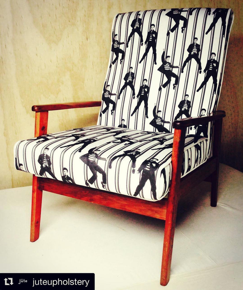 SOLD Elvis Jailhouse Rock! chair