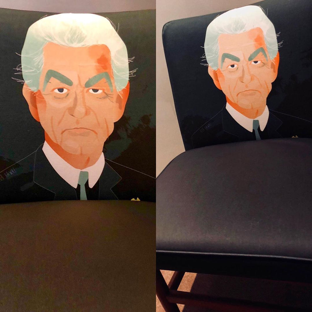 Bob Hawke revamped retro chair