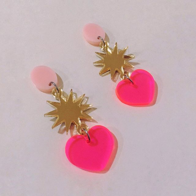Shibuya Moon Capulet earrings