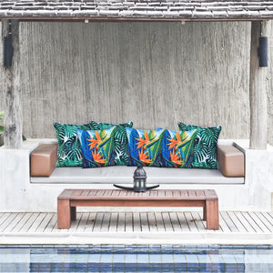 Paradise outdoor cushion cover with piping