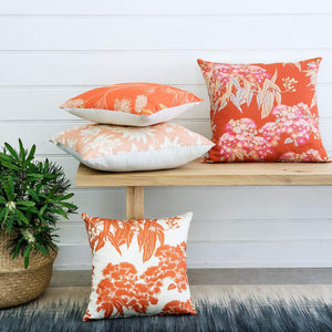 Orange Ficifolia Cushion