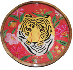 Tiger Tray in orange