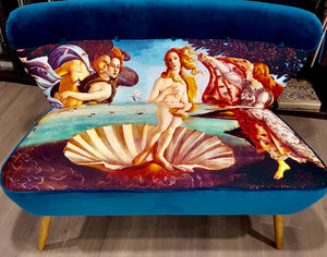 Birth of Venus two seat sofa