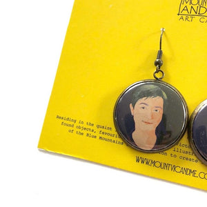 Penny Wong earrings