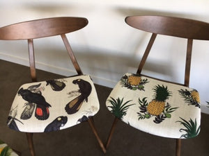 Scandi/Retro style feature chair