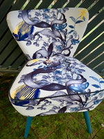 Underwater wonderland accent chair ONE ONLY