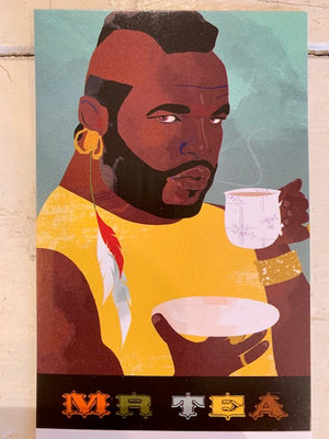 Mr T Art Teatowel