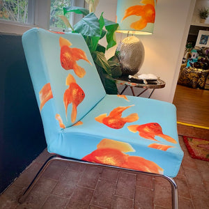 One fish two fish slipper chair