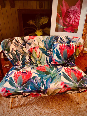 Protea two seater sofa