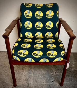 We Want Gough! restored retro office chair