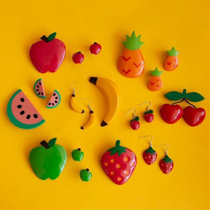 Tutti Frutti watermelon brooch