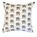 Tiny Elephants cushion cover