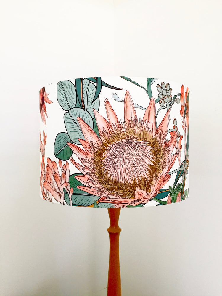Large scale protea lampshade