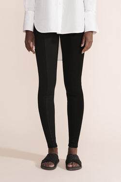 Ponte Pocket Pant - Coal