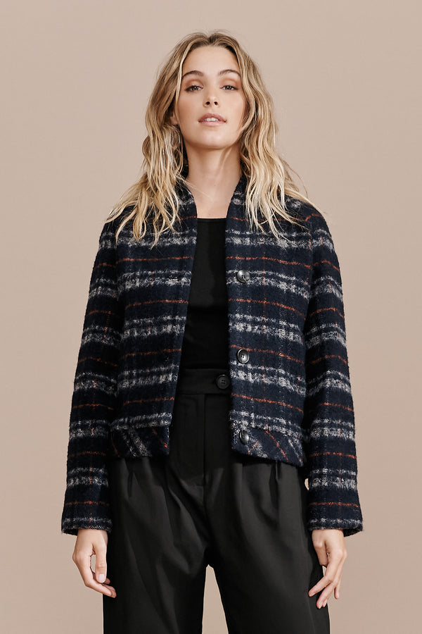 Til Jacket - Navy Check