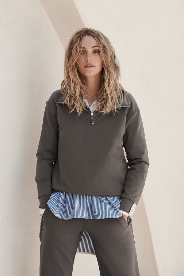 Lohtu Top - Grey