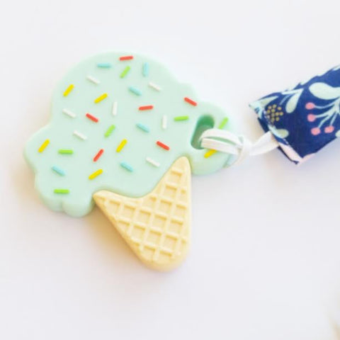 Mint Ice Cream Teether