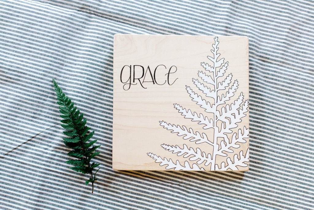 New Maple Collection // Grace // Be Still