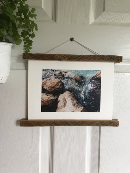 Reclaimed Wood Magnetic Frame 11.5""