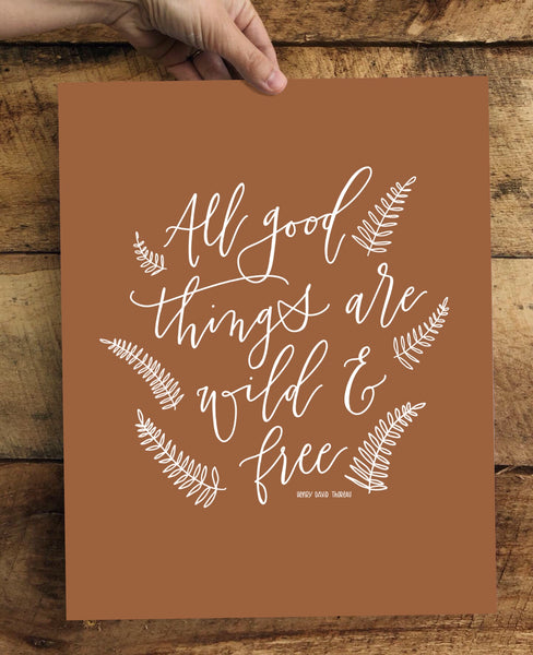 PRINT- All Good Things- 8x10