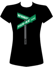 "Load image into Gallery viewer, Ladies ""Street Signs"" Tee - Front"