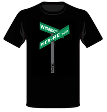 "Load image into Gallery viewer, Men's ""Street Signs"" Tee - Front"