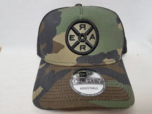 Load image into Gallery viewer, Model R 2.0 - Trucker Hat - Camo/Black - Unisex
