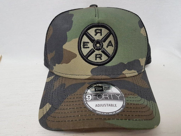 Model R 2.0 - Trucker Hat - Camo/Black - Unisex