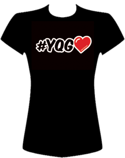 #YQG Love Tee - Front