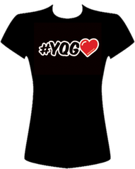 #YQG Love Tee - Ladies