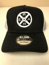 Load image into Gallery viewer, Model R 2.0 - Trucker Hat - Black/White - Unisex
