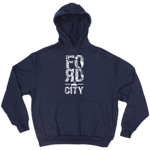 Load image into Gallery viewer, Neighbourhoodie - Model T - Unisex (available in Navy or Black)