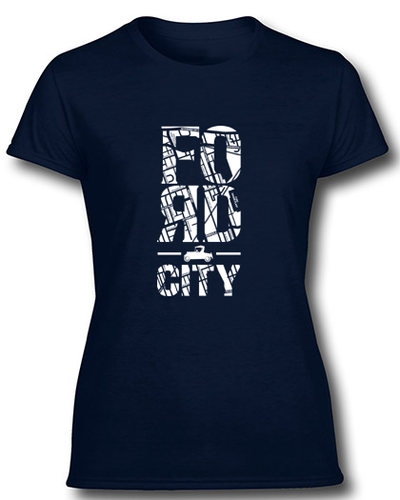 Communi-tee - Model Tee - Ladies (available in Navy or Black)