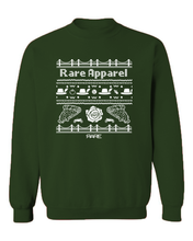 "Load image into Gallery viewer, Crewneck - The ""Not-So-Ugly"" Christmas Sweater - Unisex - Forest/White"