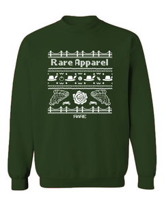 "Crewneck - The ""Not-So-Ugly"" Christmas Sweatshirt - Unisex - Forest/White"